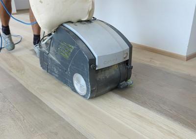 Gulvslibning og gulvafhøvling