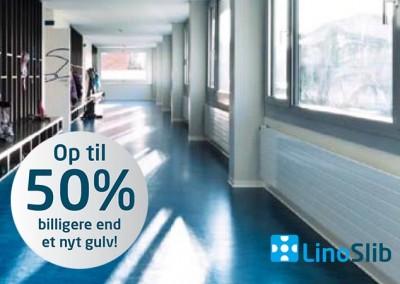 Linoslib – renovering af linoleumsgulve