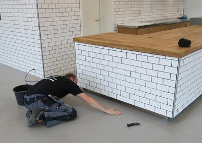 Spartlede gulve (PANDOMO) på Stensgaard Gods